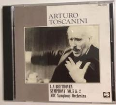 "Thumbnail of ""ベートーヴェン 交響曲 第5番 第2番 トスカニーニ NBC交響楽団 ライブ"""