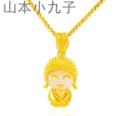 "Thumbnail of ""24K金小さな仏像のネックレスに金の入れ玉黄金999g"""