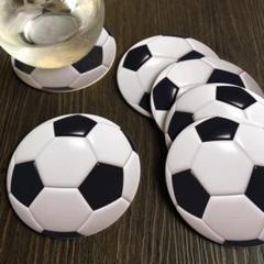 """Thumbnail of """"サッカーボールのコースター"""""""