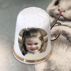 """Thumbnail of """"新品廃盤◆イギリス製シンブル指貫◆英国王室 シャーロット王女4歳お誕生日記念"""""""