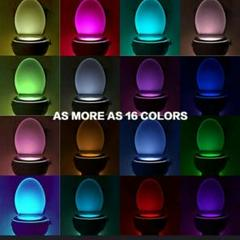 "Thumbnail of ""トイレ 便座 センサーナイト ライト LED16カラー 光 5"""