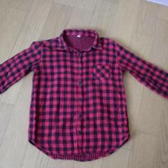 "Thumbnail of ""チェックシャツ size140"""