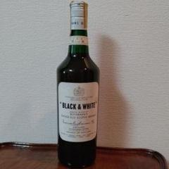 "Thumbnail of ""BLACK & WHITEウィスキー"""
