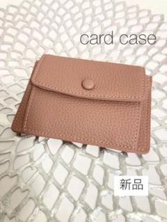 "Thumbnail of ""カードコインケース くすみピンク カードケース 定期入れ 小銭入れ カード入れ"""