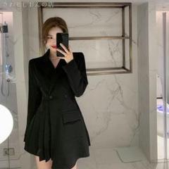 "Thumbnail of ""2021年の人気新商品2021新型韓版気質のコート腰のスーツのワンピース Dm"""