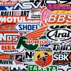 "Thumbnail of ""車 バイク レーシングステッカー デカール 【B】◆50枚セット"""