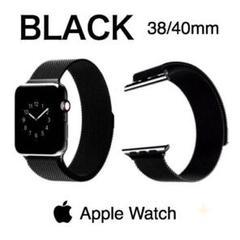 "Thumbnail of ""Apple Watch ミラネーゼバンド ブラック 38/40mm"""