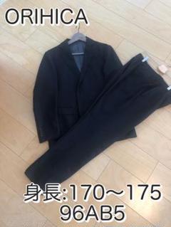 """Thumbnail of """"メンズ ビジネススーツ ■身長172cm、ウエスト90cmが着用"""""""