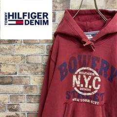 "Thumbnail of ""●ヒルフィガーデニム●プルオーバー スウェットパーカー NYCプリントロゴ"""