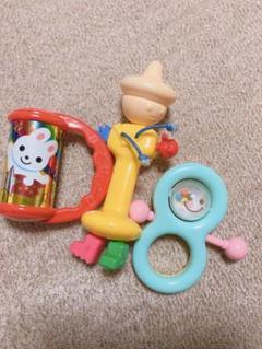 "Thumbnail of ""ガラガラ なめられ太郎 おもちゃセット"""