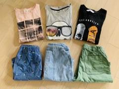 """Thumbnail of """"H&M ユニクロ Tシャツ ショートパンツ 男の子 140cm 150cm"""""""