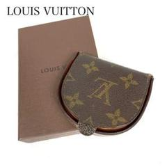 """Thumbnail of """"希少 LOUIS VUITTON ルイヴィトン キュベット コインケース 茶色"""""""