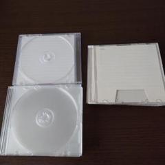 "Thumbnail of ""DVDケース クリア 白 16枚セット"""