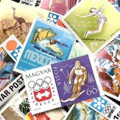 "Thumbnail of ""外国切手 未使用 世界のスポーツ オリンピック ④ 20枚 古切手 ヴィンテージ"""