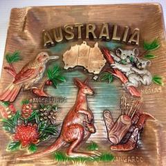 "Thumbnail of ""オーストラリア飾り皿"""