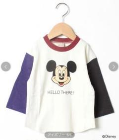 "Thumbnail of ""【petit main】ミッキー 長袖Tシャツ 90"""