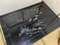 "Thumbnail of ""送料込み・匿名配送❣️螺鈿 テーブル レトロ 売り切り"""