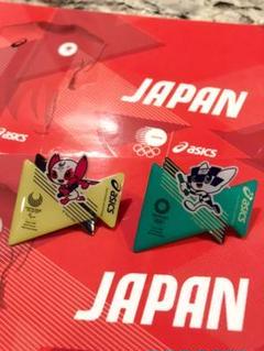 "Thumbnail of ""東京2020 ASICS 公式 オリンピック ピンバッジ ソメイティ ミライトワ"""