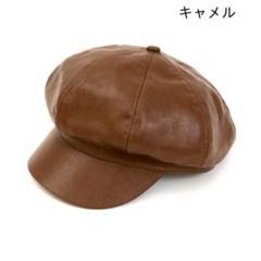 "Thumbnail of ""ANAP フェイクレザーキャスケット キャメル"""