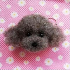 """Thumbnail of """"羊毛フェルト♡トイプードルちゃんのキーホルダ☆犬"""""""