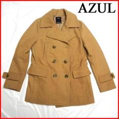 """Thumbnail of """"【AZUL by moussy】ピーコートPコート茶色ライトブラウンSアズール"""""""