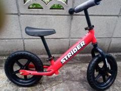 """Thumbnail of """"ストライダー 赤 レッド バイク キッズ STRIDER 自転車 ペダル無し"""""""