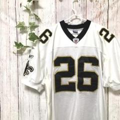 """Thumbnail of """"NFL  アメリカンフットボールニューオリンズセインツマクリスターゲームシャツ"""""""