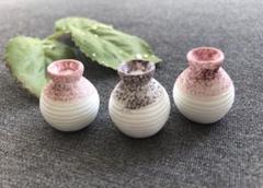 """Thumbnail of """"《新品》ミニチュア  模型 ジオラマ 花瓶 花器 壺 和風 ☆ 3個セット"""""""