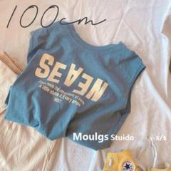 "Thumbnail of ""100 Tシャツ ノースリーブ タンクトップ 夏服 女の子 子供服 韓国子供服"""
