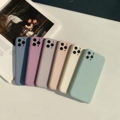 """Thumbnail of """"iphone12proケース くすみ マット シンプル ブルー"""""""