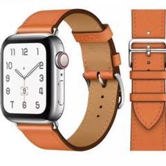 "Thumbnail of ""AppleWatch 時計 バンド 革  Apple レザー 44mm 42mm"""