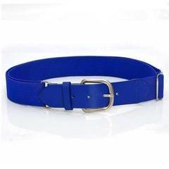 【裏技ゴムベルト 幅3.5cm】【ブルー】かわいい 楽々 デニム 大きめサイズ