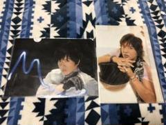 """Thumbnail of """"木村拓哉 クリアファイル2枚セット"""""""