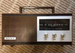 "Thumbnail of ""SONY AMラジオ TR-628 中古美品 昭和レトロ"""