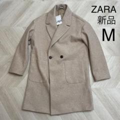 """Thumbnail of """"新品 M ZARA ダブルブレスト コート サンド ザラ"""""""