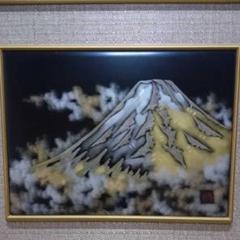 "Thumbnail of ""輪島塗 彫刻 絵画 富士山"""