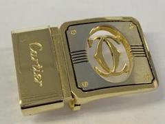 "Thumbnail of ""I300 Cartier カルティエ ベルト バックル ロゴ ベルト幅約3cm"""