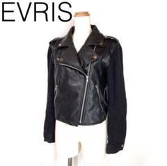 """Thumbnail of """"W3547*EVRIS エヴリス ライダースジャケット 黒ブラック M"""""""