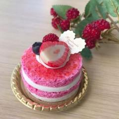 """Thumbnail of """"フェイクスイーツ フランボワーズケーキ リアルサイズ♡"""""""