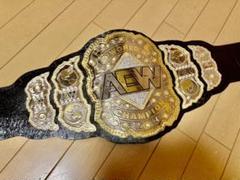"Thumbnail of ""AEW チャンピオンベルト レプリカ 本革仕様/WWE 新日本プロレス"""