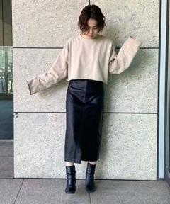 "Thumbnail of ""【完売品★】 FREE'S MART フェイクレザーペンシルスカート"""