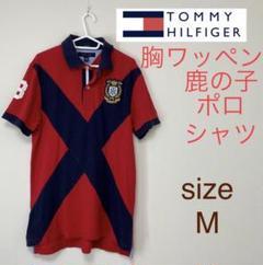 "Thumbnail of ""TOMMY HILFIGER トミーヒルフィガー ポロシャツ M ワッペン"""