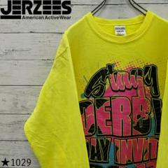 """Thumbnail of """"【90s】JERZEES スウェット ビッグプリント イエロー NUBLEND"""""""