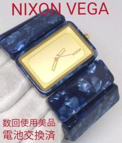 数回使用美品 NIXON VEGA レディース 腕時計 電池交換済み