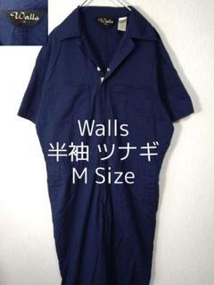 "Thumbnail of ""M Walls ウォールズ 半袖 オールインワン ツナギ ネイビー 紺色"""