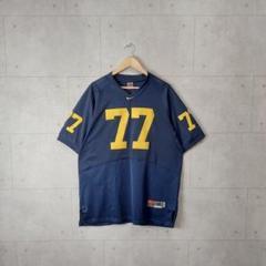 "Thumbnail of ""90s Nike ゲームシャツ アメフト 刺繍ロゴ ネイビー ストリート"""