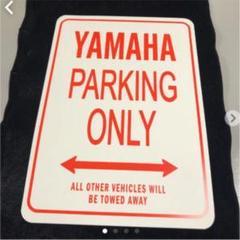 "Thumbnail of ""YAMAHA サインプレート 新品未使用 バイク オートバイ"""
