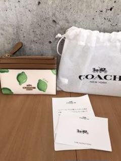 "Thumbnail of ""未使用 COACH コーチ キーケース 小銭入 定期入"""