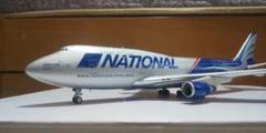 "Thumbnail of ""1/200 B747-400F ナショナルエアラインズ"""