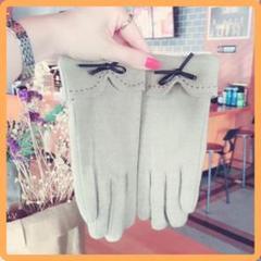 "Thumbnail of ""シルクの手触り♪高級カシミヤ シルク手袋 ウール 手袋 ベージュ"""